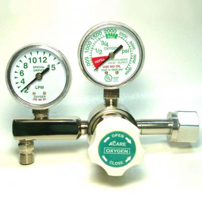 Single Stage Style Oxygen Regulator
